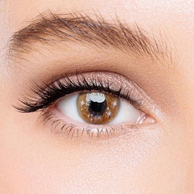 Icoloured® Snowdrop Brown Colored Contact Lenses