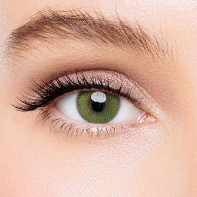 Icoloured® Super Natural Yellow-Green Colored Contact Lenses