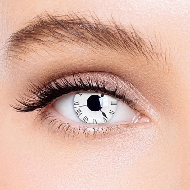 Icoloured®  Tick Tock Special Effect Colored Contact Lenses