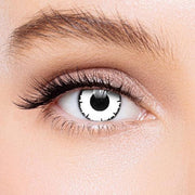 Icoloured® White Angelic Colored Contact Lenses