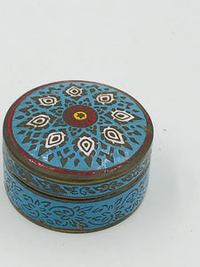 Cloisonné, Geometric Detailed Box