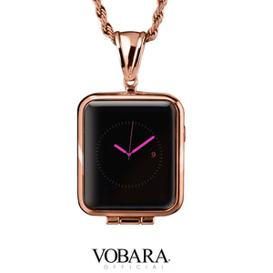 Rose Gold Pendant Case for Apple Watch