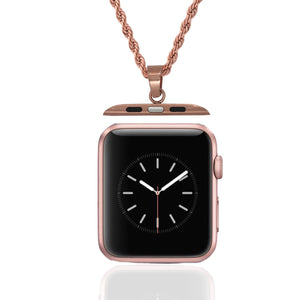 Rose Gold Vobara Watch Chain (Replaces Bands for Apple Watch)