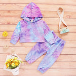 Load image into Gallery viewer, Tie Dye Hoodie Set