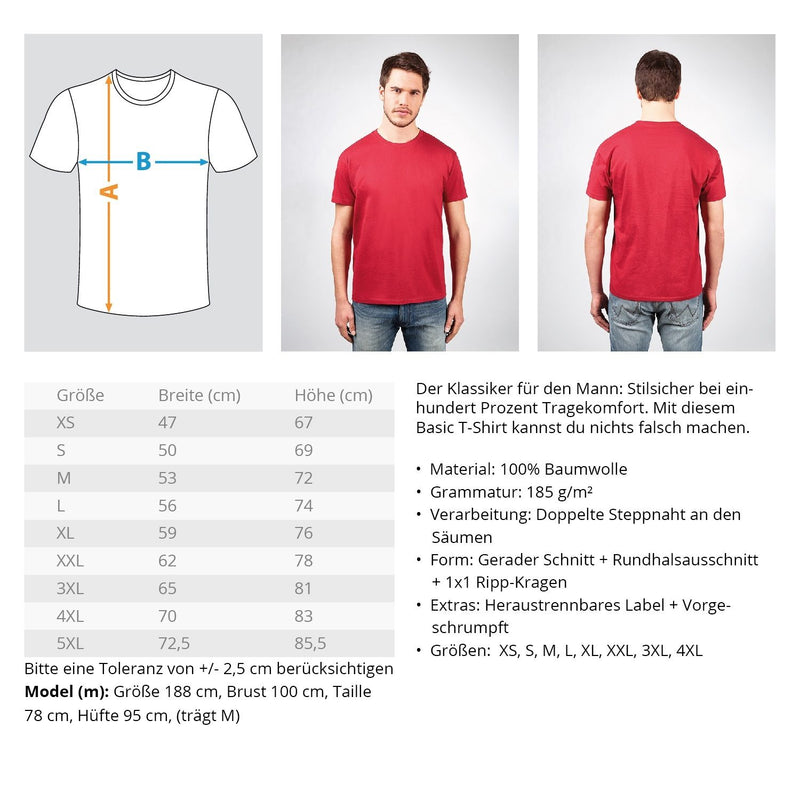 Gerüstbauer ICH MACH DAS Gerüstbauer ICH MACH DAS  | Gerüstbauer T-Shirt | geruestbauershop.de Herren Basic T-Shirt 24.95 Gerüstbauer - Shop >>