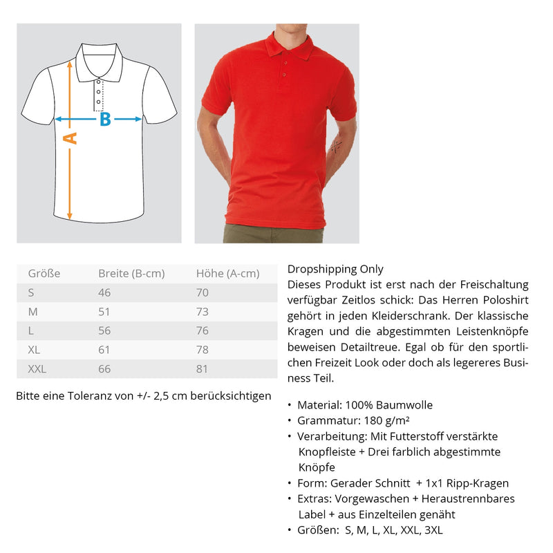 Gerüstbauer / Handwerk mit Tradition  - Polo Shirt - [Produkt_typ] - [Shop_Name]