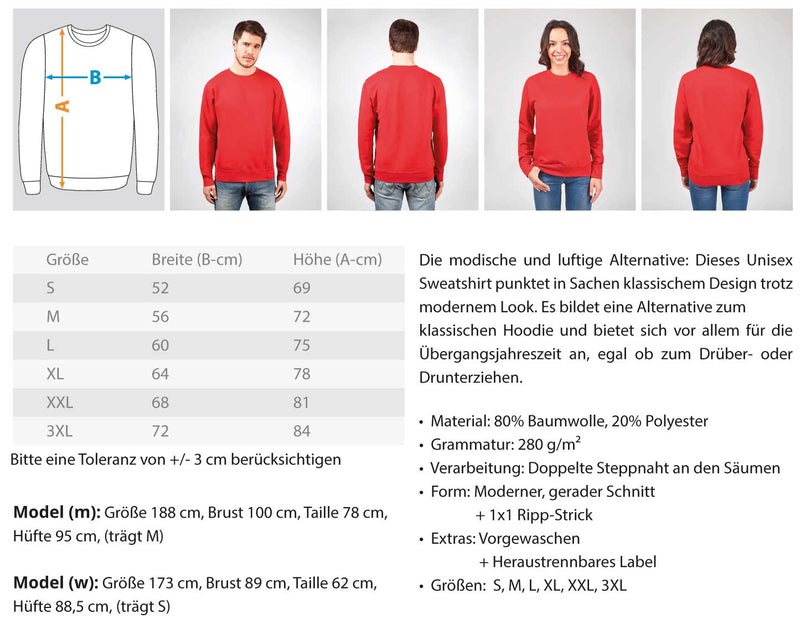 Gerüstbauer Real Fighter  - Unisex Pullover - [Produkt_typ] - [Shop_Name]