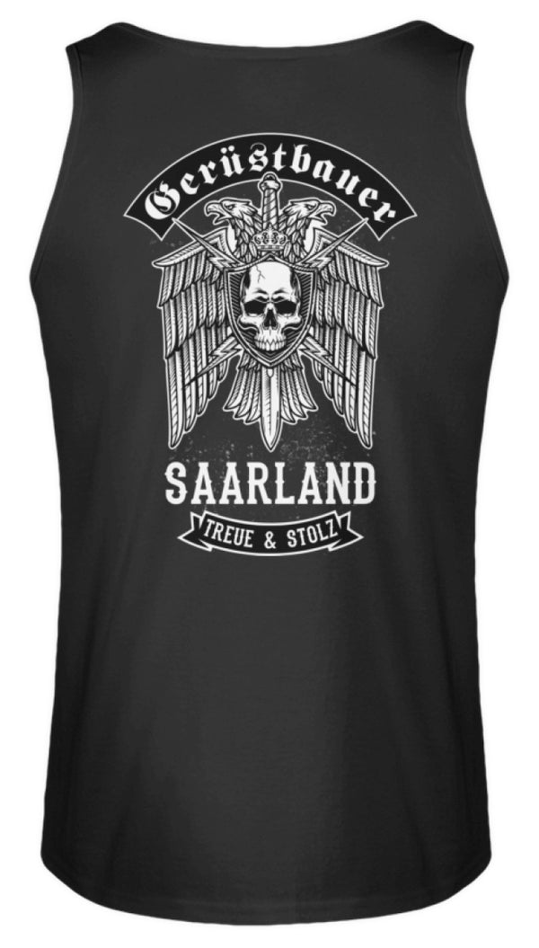 Gerüstbauer Saarland  - Herren Tanktop Gerüstbauer Saarland | Herren Basic T-Shirt - www.geruestbauershop.de Herren Tank-Top 22.95 Gerüstbauer - Shop >>