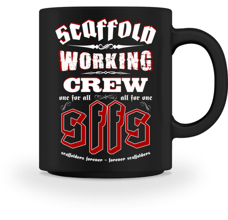 Gerüstbautasse / Working Crew  - Tasse - [Produkt_typ] - [Shop_Name]