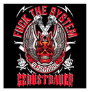 Fuck the System   - Sticker €4.95 Gerüstbauer - Shop >>