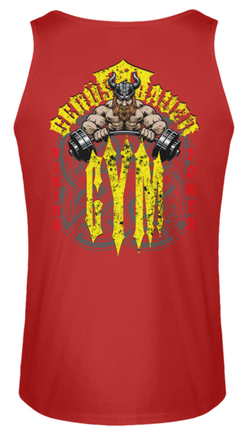 Gerüstbauer Gym / Viking Power  - Herren Tanktop Gerüstbauer Gym / Viking Power | Herren Basic T-Shirt - www.geruestbauershop.de Herren Tank-Top 22.95 Gerüstbauer - Shop >>