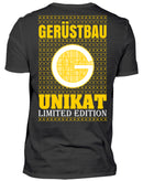 Gerüstbauer Unikat  - Herren V-Neck Shirt - [Produkt_typ] - [Shop_Name]