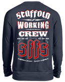 SCAFFOLD WORKING CREW  - Unisex Pullover SCAFFOLD WORKING CREW | Herren Basic T-Shirt - www.geruestbauershop.de Unisex Sweatshirt 34.95 Gerüstbauer - Shop >>