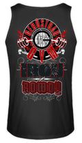 Gerüstbau GYM / IRON ROWDY  - Herren Tanktop - [Produkt_typ] - [Shop_Name]