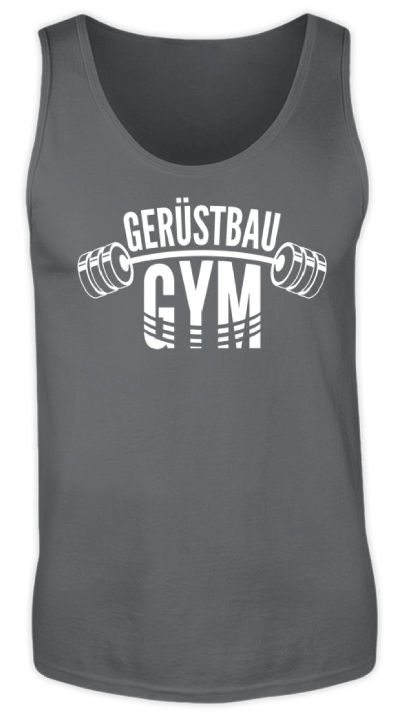 Gerüstbau GYM  - Herren Tanktop - [Produkt_typ] - [Shop_Name]