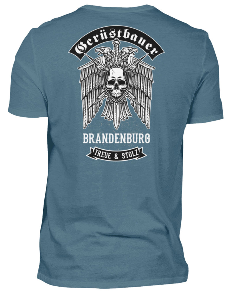 Gerüstbauer Brandenburg  - Herren Shirt Gerüstbauer Brandenburg | Herren Basic T-Shirt - www.geruestbauershop.de Herren Basic T-Shirt 22.95 Gerüstbauer - Shop >>