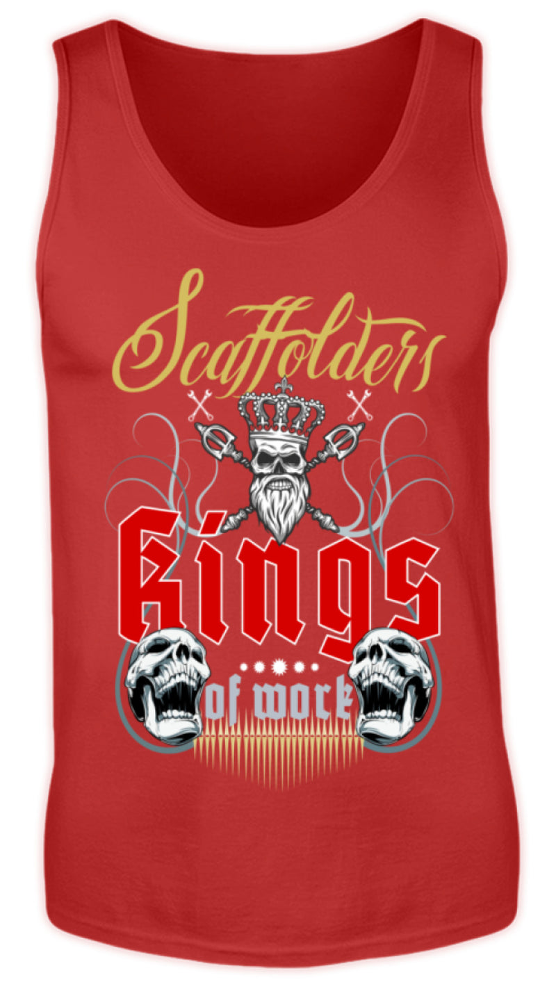 Gerüstbauer / Scaffolders Kings of Work  - Herren Tanktop €19.99 Gerüstbauer - Shop >>