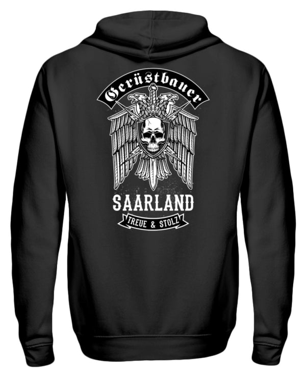 Gerüstbauer Saarland  - Zip-Hoodie Gerüstbauer Saarland | Herren Basic T-Shirt - www.geruestbauershop.de ZipperF 44.95 Gerüstbauer - Shop >>