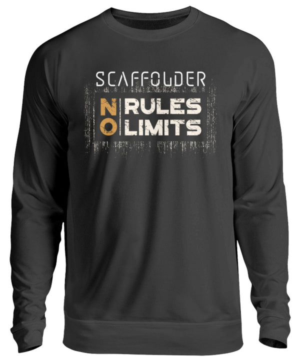 Scaffolder NO RULES NO LIMITS  - Unisex Pullover - [Produkt_typ] - [Shop_Name]