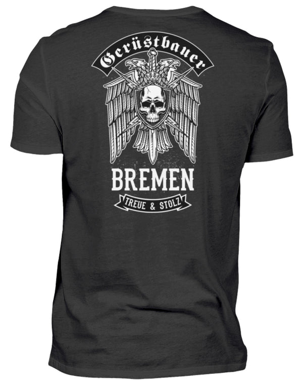 Gerüstbauer Bremen  - Herren Shirt Gerüstbauer Bremen | Herren Basic T-Shirt - www.geruestbauershop.de Herren Basic T-Shirt 22.95 Gerüstbauer - Shop >>