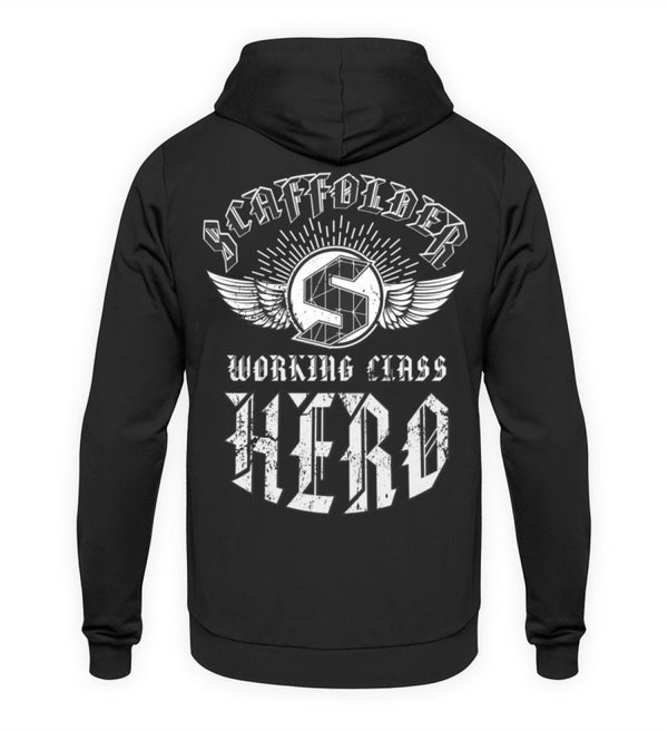 Working Class Hero  - Unisex Kapuzenpullover Hoodie €44.95 Gerüstbauer - Shop >>