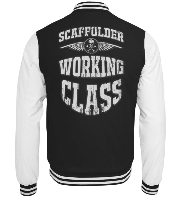 Scaffolder Working Class  - College Sweatjacke