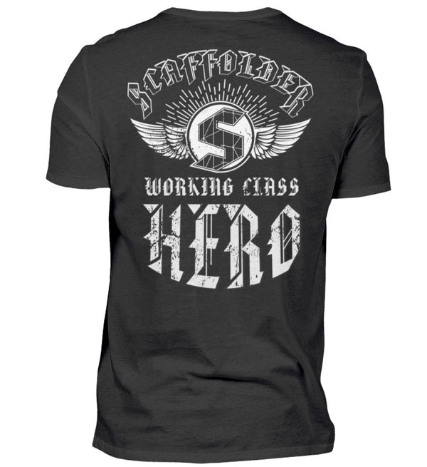 Working Class Hero  - Herren Shirt €29.95 Gerüstbauer - Shop >>