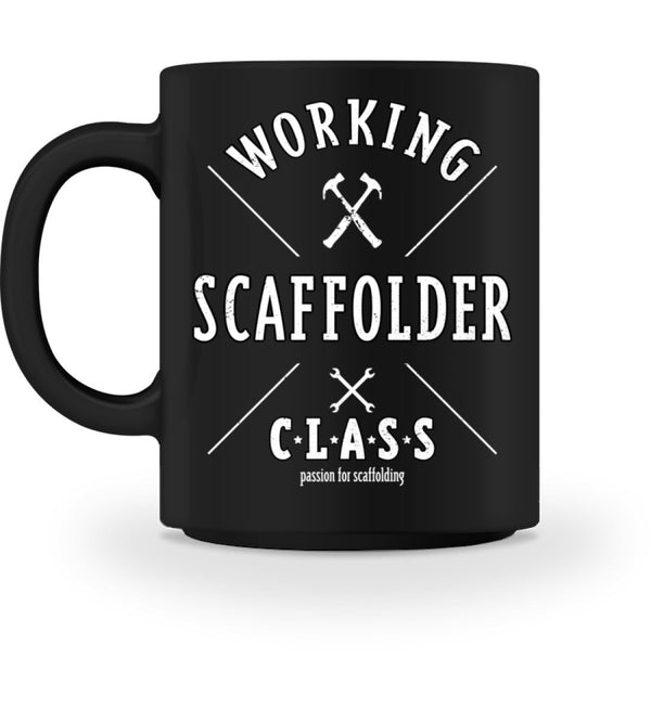 Passion for Scaffolding Passion for Scaffolding | Kaffeetasse | www.geruestbauershop.de Tasse 18.95 Gerüstbauer - Shop >>