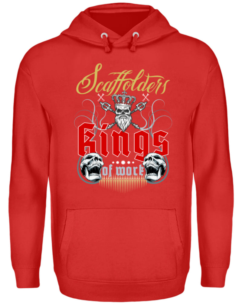 Gerüstbauer / Scaffolders Kings of Work Scaffolders King of Work | Gerüstbauer Hoodie | geruestbauershop.de Unisex Hoodie 34.99 Gerüstbauer - Shop >>