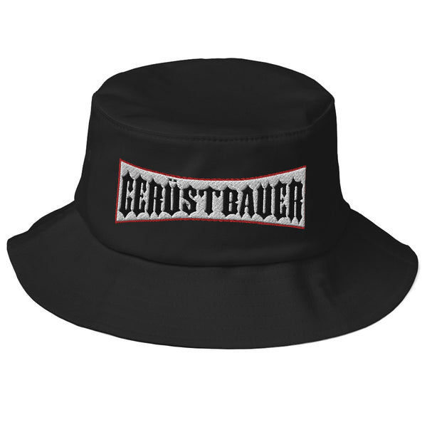 Old School Bucket Hat / Gerüstbauer - [Produkt_typ] - [Shop_Name]