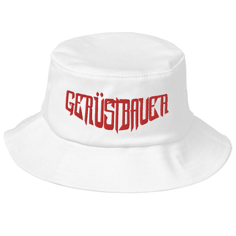 www.geruestbauershop.de Oldschool Bucket Hat