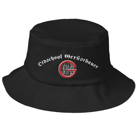 Old School Bucket Hat Default Title Gerüstbauer Shop