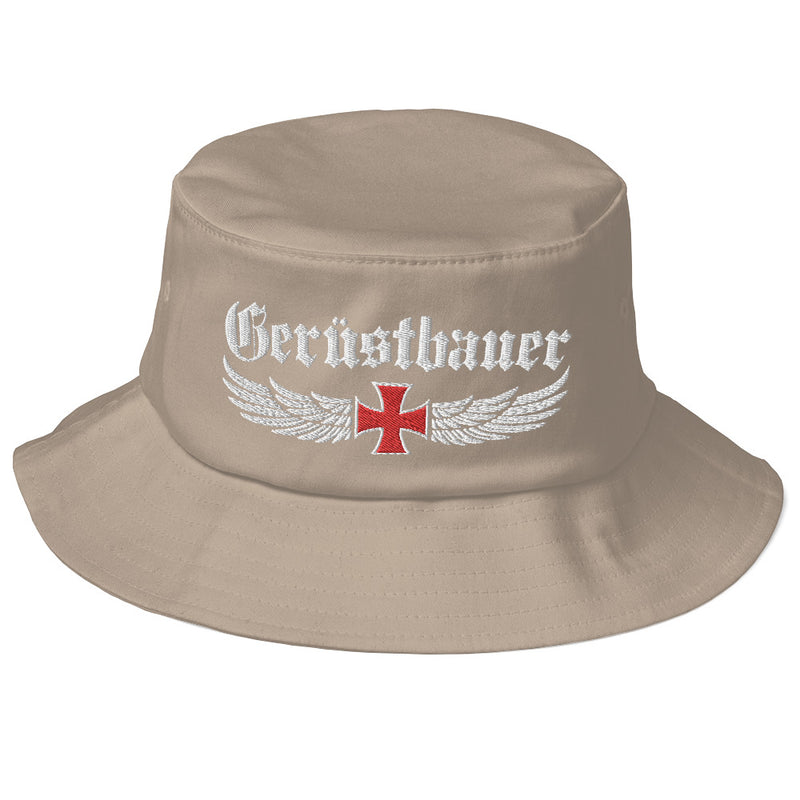 Old School Bucket Hat €29.95 Gerüstbauer - Shop >>