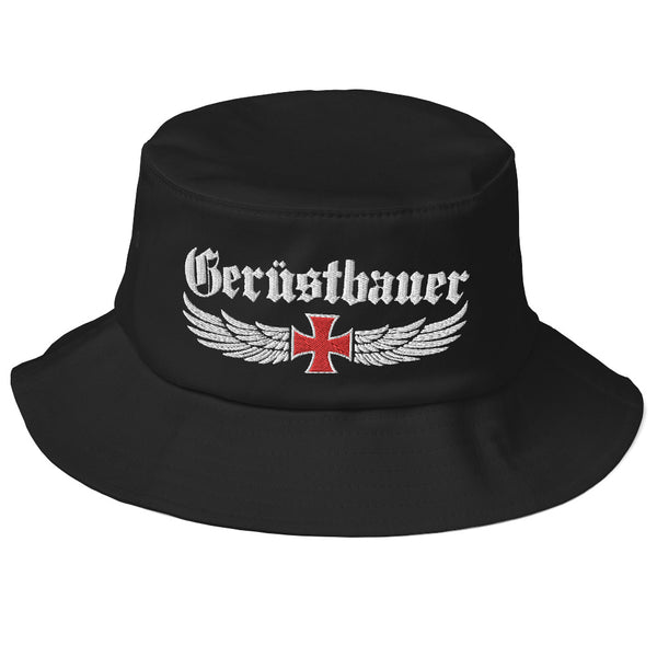 Old School Bucket Hat Old School Bucket Hat | Mütze bestickt | www.geruestbauershop.de  29.95 Gerüstbauer - Shop >>