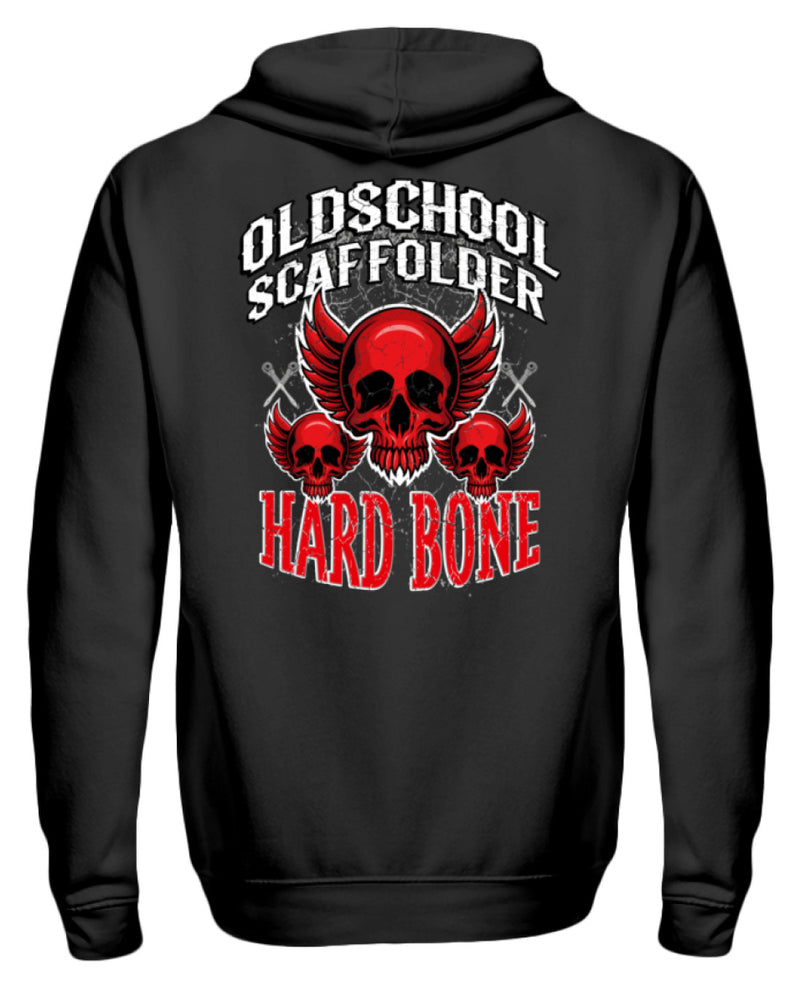 Hard Bone  - Zip-Hoodie Hard Bone | Gerüstbauer ZipperF | www.geruestbauershop.de Zipper 49.95 Gerüstbauer - Shop >>
