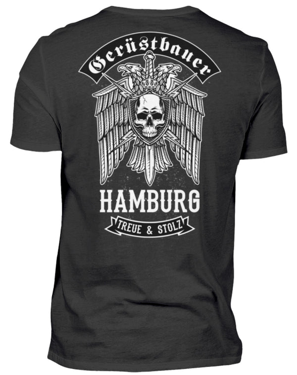 Gerüstbauer Hamburg  - Herren Shirt Gerüstbauer Hamburg | Herren Basic T-Shirt - www.geruestbauershop.de Herren Basic T-Shirt 22.95 Gerüstbauer - Shop >>
