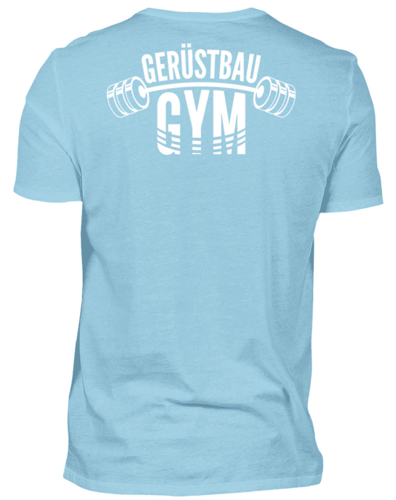 Gerüstbauer T-Shirt / Gerüstbau GYM Gerüstbau / GYM  | Herren Basic T-Shirt - www.geruestbauershop.de Herren Basic T-Shirt 24.95 Gerüstbauer - Shop >>