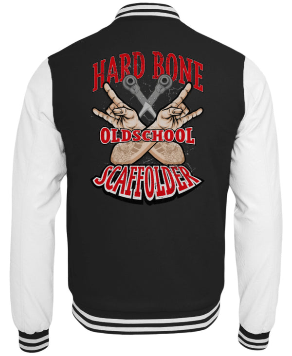 Hard Bone Hard Bone | Collegejacke | www.geruestbauershop.de CollegejackeB 59.95 Gerüstbauer - Shop >>