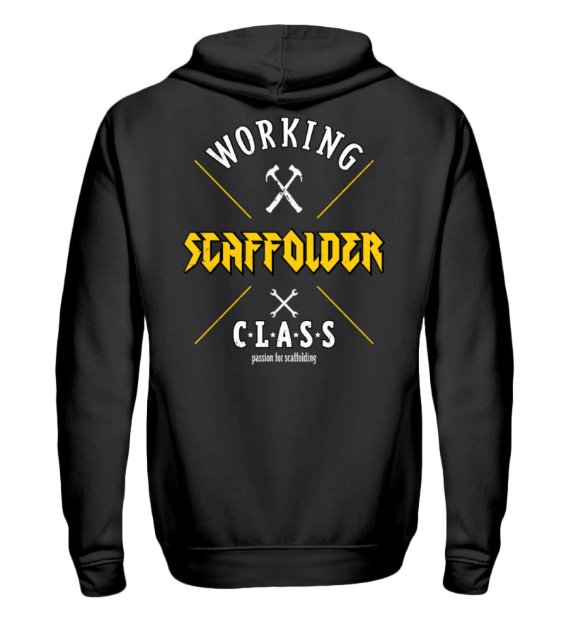 Passion for Scaffolding Passion for Scaffolding | Zip Hoodie | www.geruestbauershop.de Zipper 49.95 Gerüstbauer - Shop >>