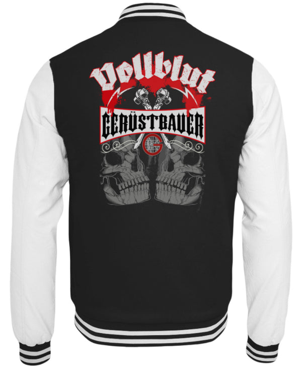 Vollblut Gerüstbauer  - College Sweatjacke - [Produkt_typ] - [Shop_Name]