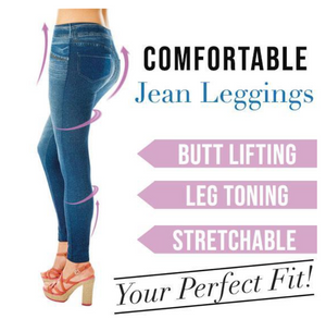 Multipurpose Jean-Leggings