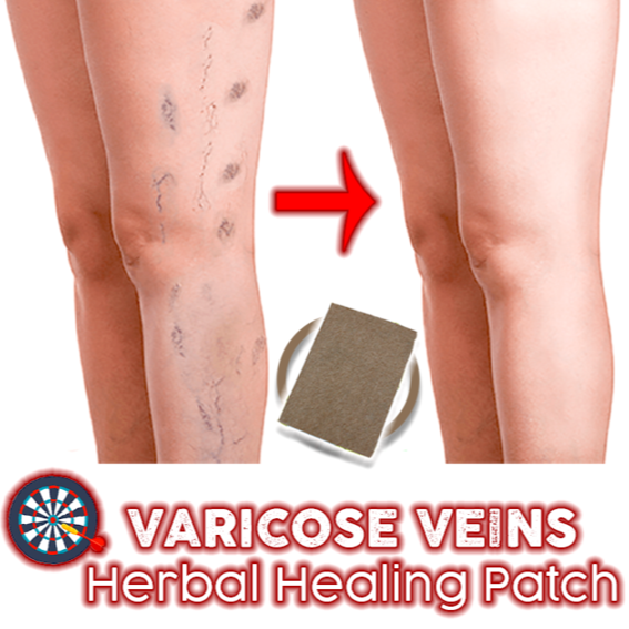 VariVein® VARICOSE VEINS HERBAL HEALING PATCH (8 pcs/pack)