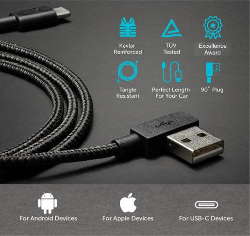 Spartan® Unbreakable Fast Charging Cable - 6 FEET LONG