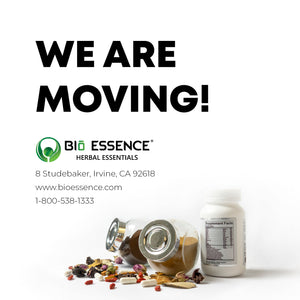 Bio Essence is moving to a new location!