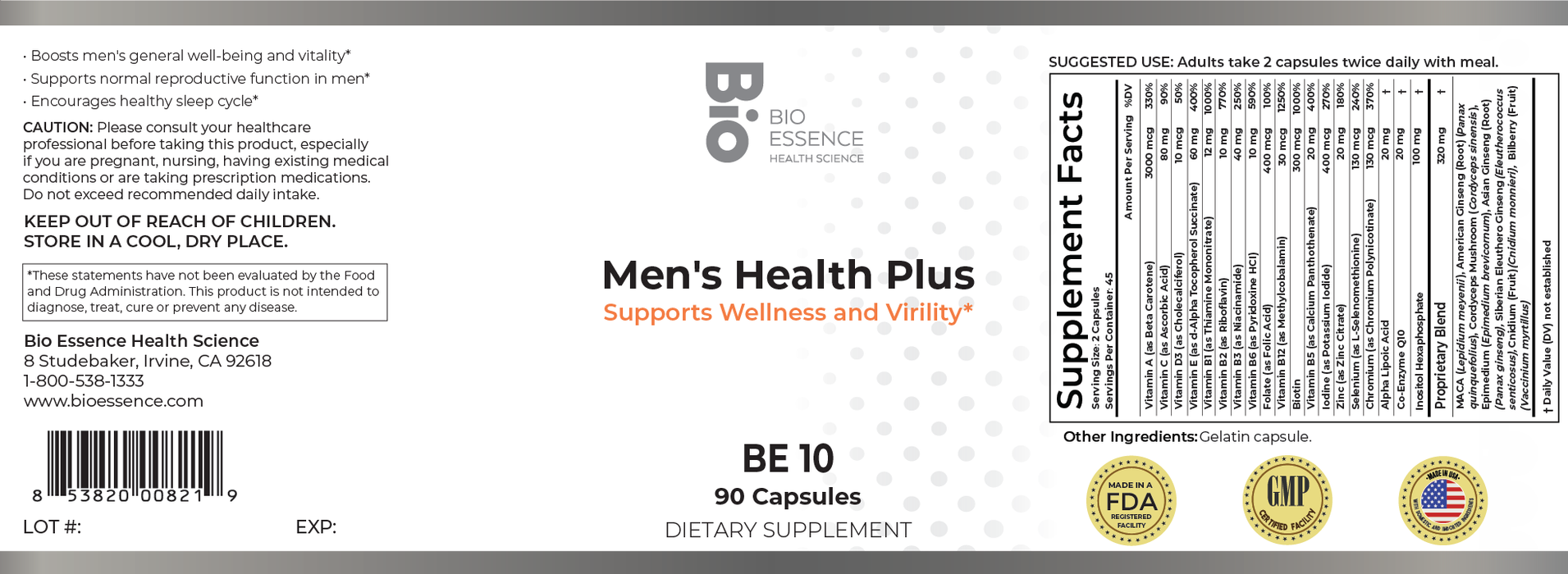 Men's Health Plus (Formerly Powerful Men)