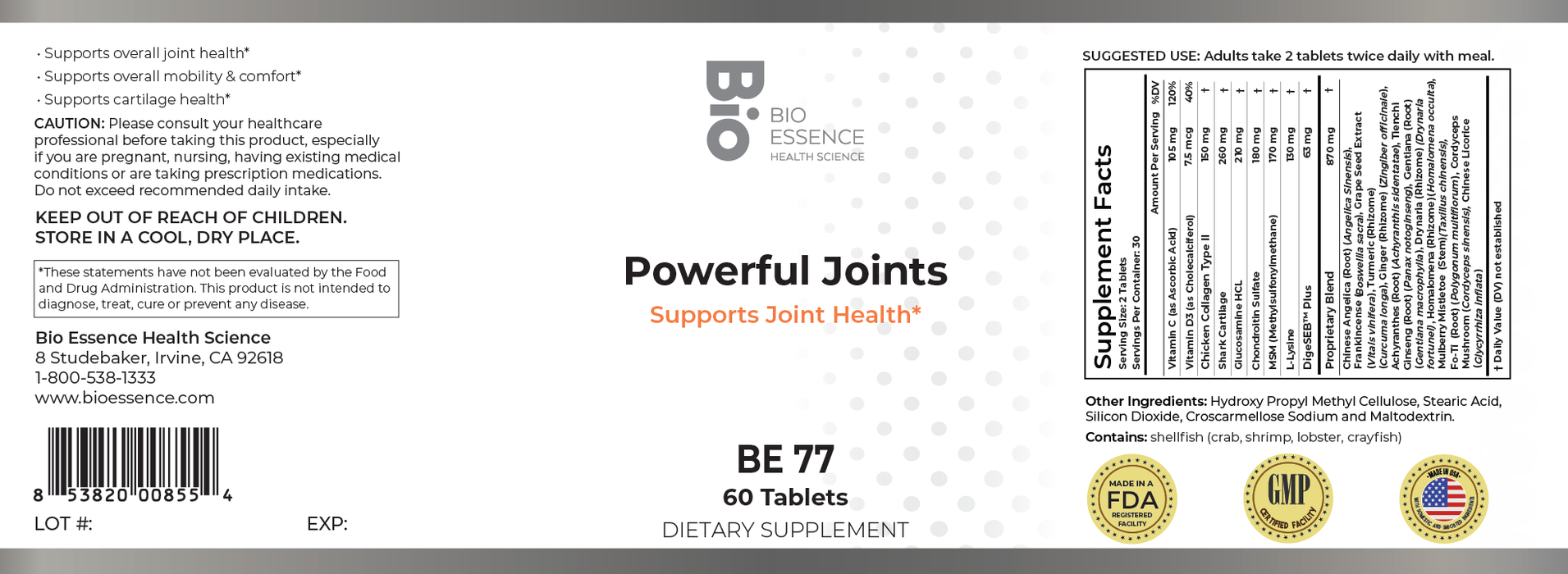 Powerful Joints (Tablets)