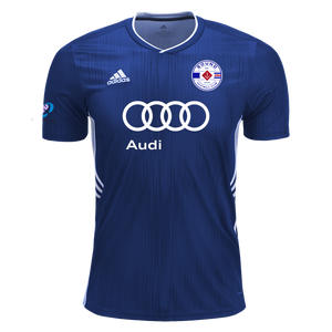 Sound FC Game Jerseys (Blue and White) with #98