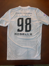 Load image into Gallery viewer, Sound FC Game Jerseys (Blue and White) with #98