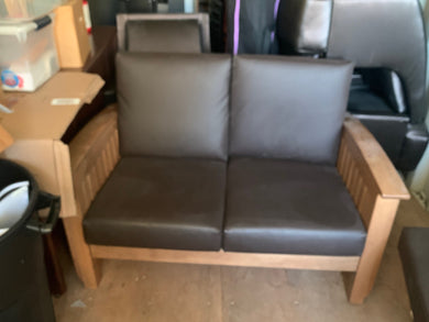 Brown Couch, Small - Used