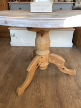 Load image into Gallery viewer, Circular Solid Pine Dining Table (now sold)
